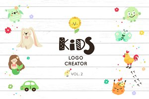 Logo creator for kids (vol.2)