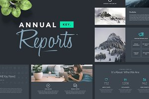 Annual Reports - Keynote Template