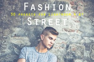 Pack 30 LR Presets Fashion Street