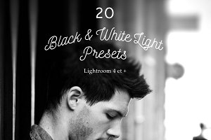 Pack 20 LR Presets Black & White