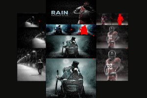 Rain - Photoshop Action