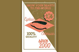 eyelash extension banner