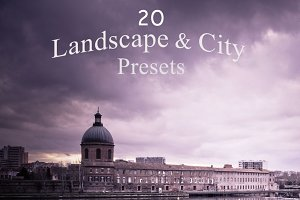 Pack 20 LR Presets Landscape & City