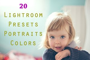Pack 20 LR Presets Portraits Colors