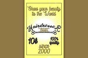 hairdresser salon banner