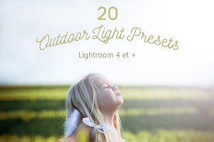 Pack 20 LR Presets Outdoor Light