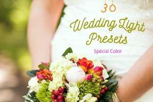 Pack 30 LR Presets Wedding Light Day