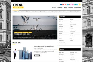 Trend - Magazine WordPress Theme