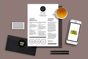 Jolie - Resume template Word