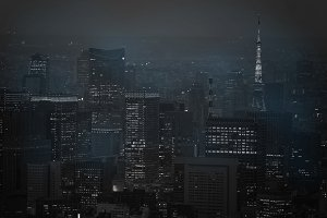 Tokyo city background