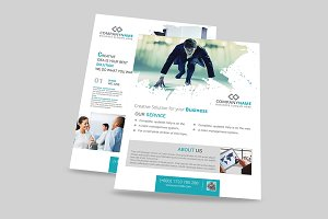 Modern corporate Flyer Templates
