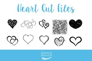 Valentine Heart Cut Files SVG / EPS