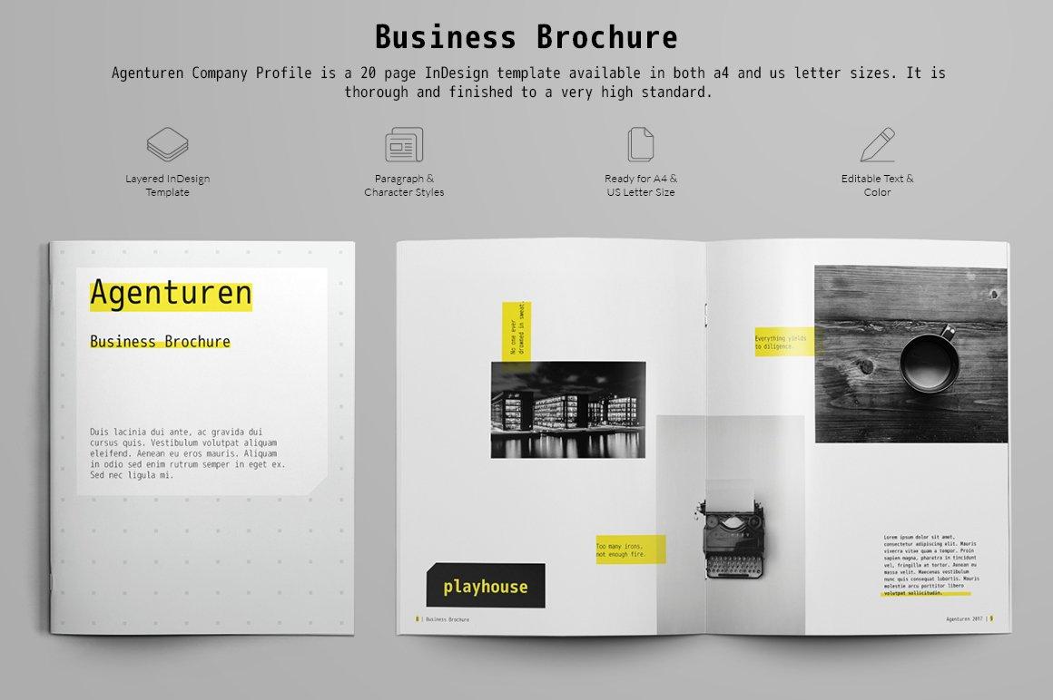 Business Brochure Brochure Templates Creative Market