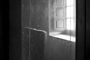 abandoned bedroom