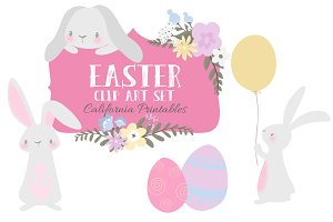 Easter Clip Art Set