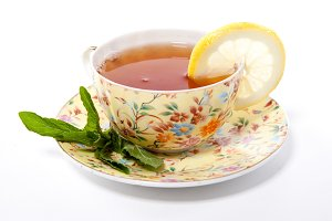 Cup of fresh tea