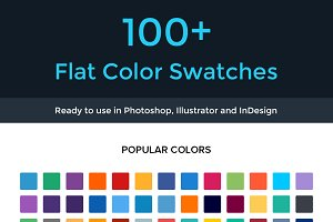 Flat Color Swatches