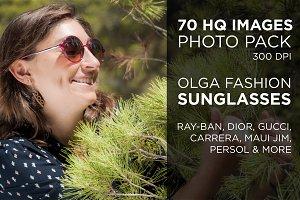 Olga Fashion Sunglasses Photo Pack