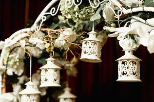 Little wooden lanterns