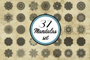 37 Mandalas set 2.