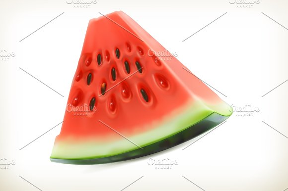 Pineapple and juicy fruits, vector in Illustrations - product preview 1