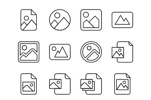 Images, Line and Solid icons