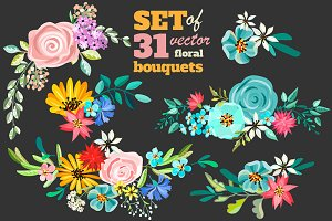 **31** FLOWERS BOUQUETS