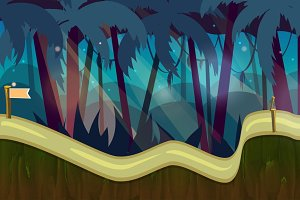 Jungle Game Background