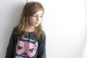 Portrait of little girl.