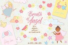 Breath of Angel. Romantic kit