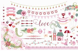 Valentine Vector Clipart