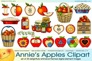 Annie's Apples Clipart