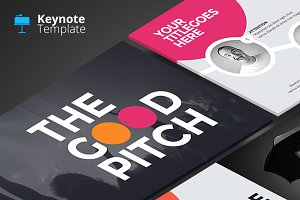 The Good Pitch - Keynote Template