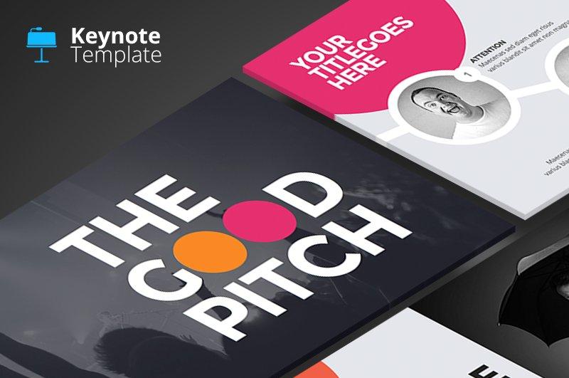 The good pitch keynote template presentation templates the good pitch keynote template presentation templates creative market maxwellsz