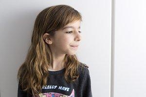 Portrait of little girl