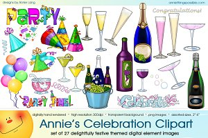 Annie's Celebration Clipart