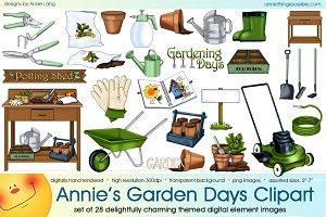 Annie's Garden Days Clipart
