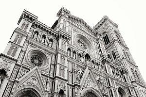 Duomo di Firenze Black and White