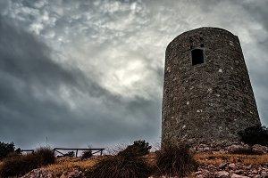 Viewpoint Cerro Gordo tower