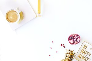 Styled Stock Photo | Pink & Gold