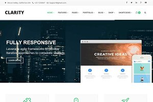 Clarity - Business Template