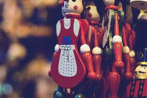 christmas deco nutcracker