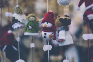 christmas deco items snowman