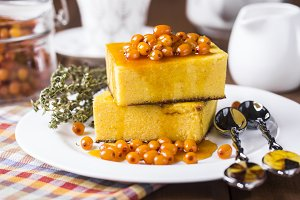 cottage cheese casserole with pumpkin
