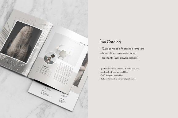Catalog + Magazine PSD • Íma