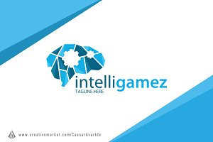 Intelligent Game Logo Template