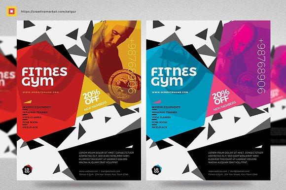 Fitness Flyer Gym Flyer V15