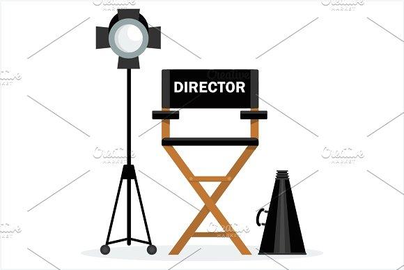 Director Chair Megaphone