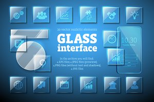 Glass Interface Elements