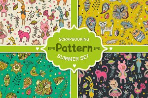 Summer patterns set